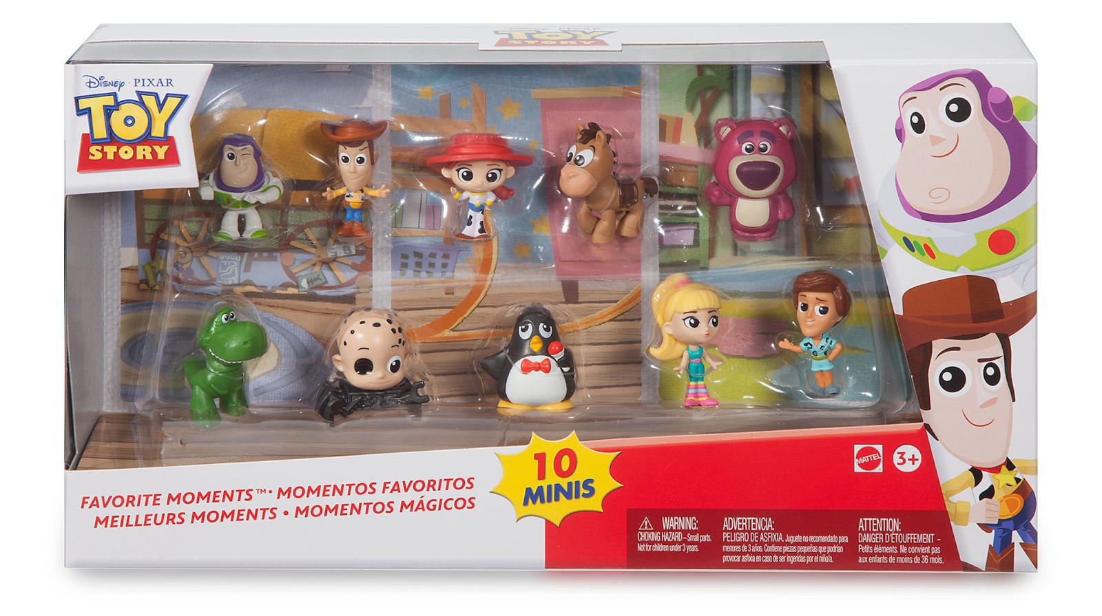 mattel toy story minis babyface figure