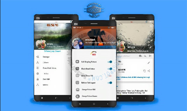 BBM Mod Chatme Style Origimod With FBUI v3.2.9.6 Apk