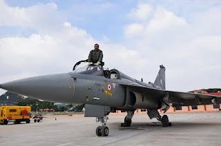 Jet Tempur Tejas LCA Mk 1A