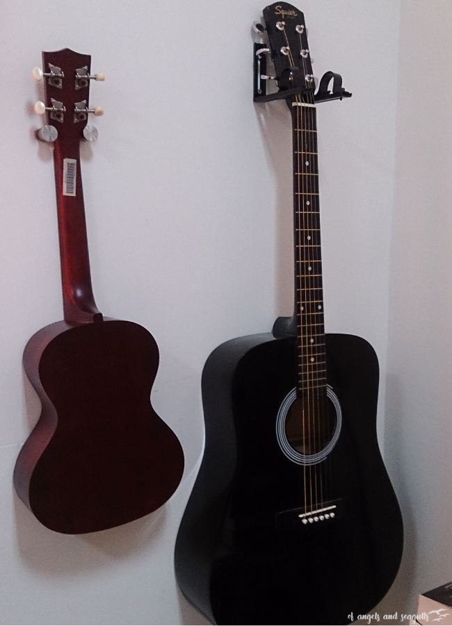 Of Angels And Seagulls Guitar And Ukulele Wall Hanger Ideas