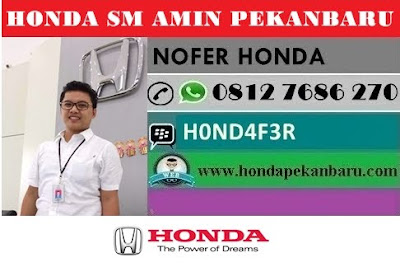 Paket Kredit Mobil Honda Pekanbaru Riau Februari 2018 Terbaru