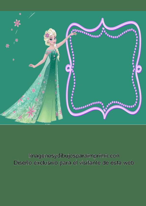 Imagenes De Elsa De Frozen Para Invitaciones Imagenes Y Dibujos