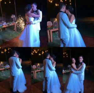 Foto pernikahan celine evangelista dan stefan william