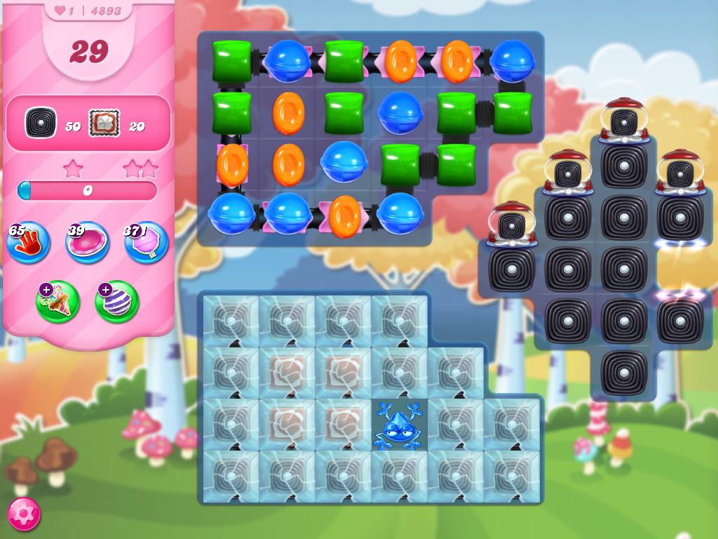 Candy Crush Saga level 4893