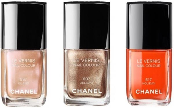 Descubra os novos esmaltes da Chanel: Island, Delight e Holiday