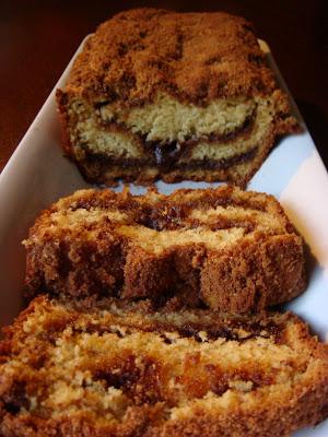 Top Cinnamon Buttermilk Coffee Cake