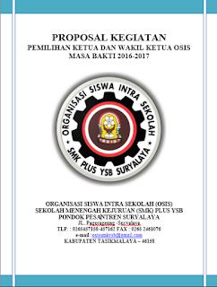 Contoh Proposal Pemilihan Ketua Dan Wakil Ketua Osis Yang Pasti 100