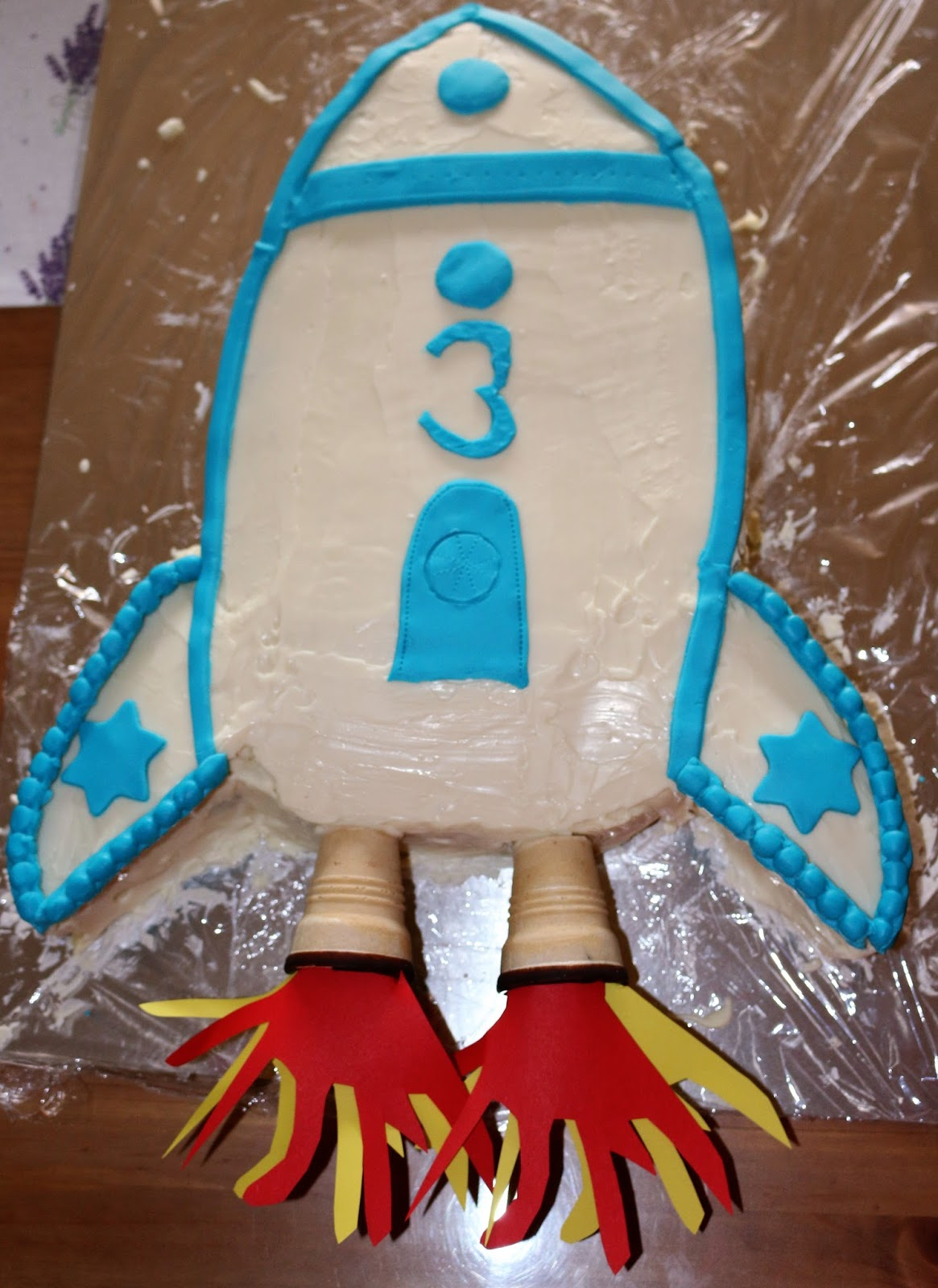 Raketen Torte Zum Kindergeburtstag Bininannys