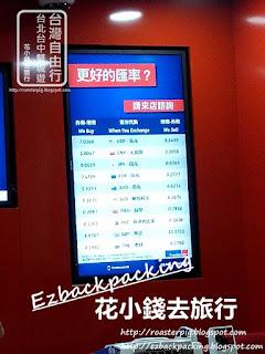 香港機場台幣牌價