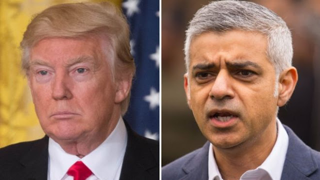 Donald Trump renews feud with London mayor over terror attack