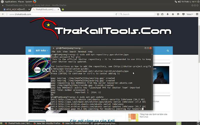 Shutter - Phần mềm chụp ảnh màn hình tốt nhất cho Linux