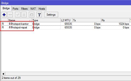 Cara Membuat Beberapa Hotspot Server pada 1 Mikrotik dengan IP Berbeda – Pusat Pengetahuan