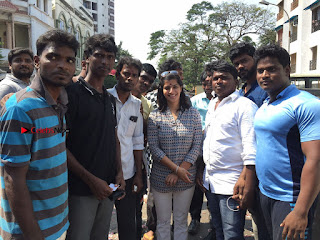 Tamil Actress Varalaxmi Sarathkumar Birthday Celetion Stills  0023.jpg