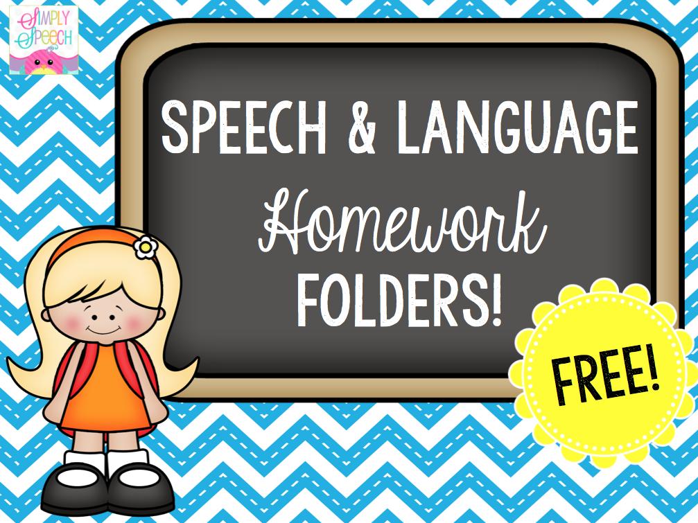 speech about homework