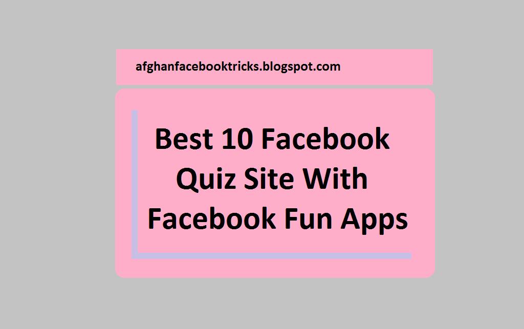 Apps facebook fun