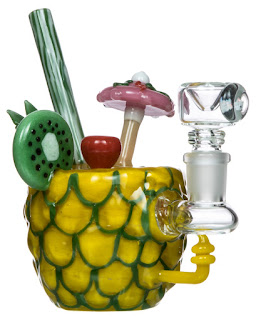 Pineapple Water Bong by Empire Glassworks