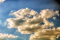 Wolkenaufnahme...