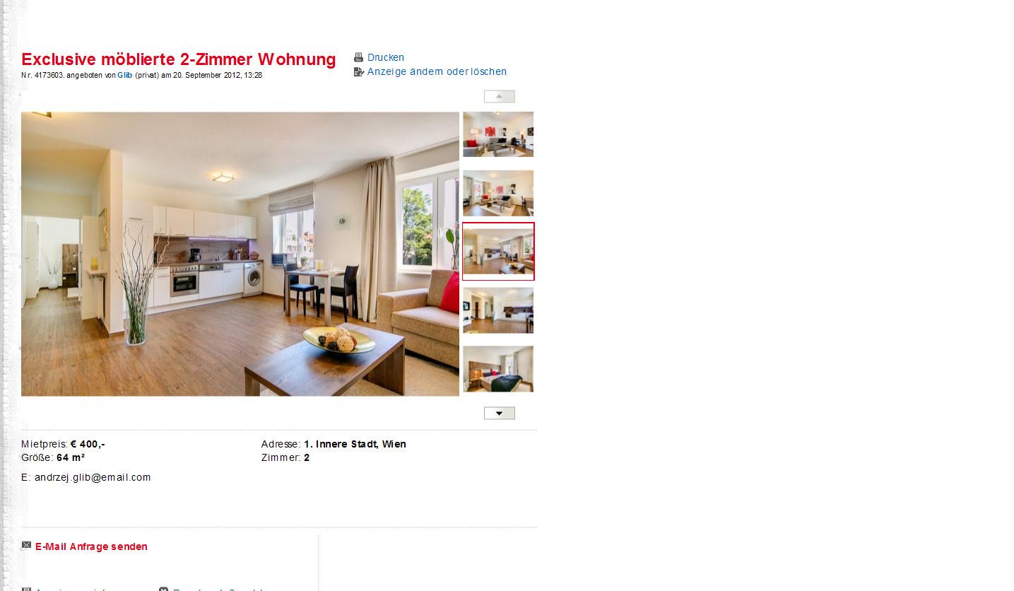 Moblierte Wohnung Berlin Von Privat