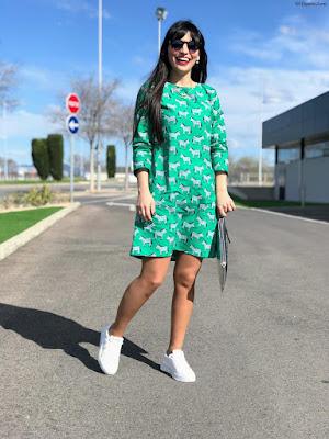 Zapatillas de mujer color blanco