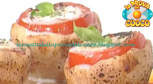 Ricetta dei Pomodori al cuor di mozzarella da La Prova del Cuoco