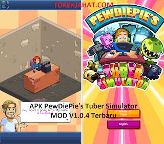 Download PewDiePie's Tuber Simulator V1.0.4 MOD Apk Terbaru