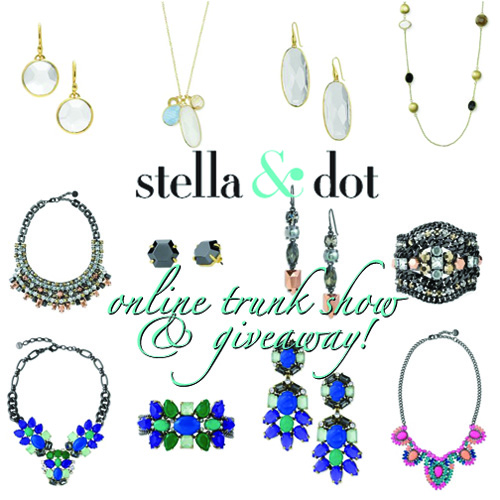Template for online trunk show stella and dot party for Stella and dot invitation templates