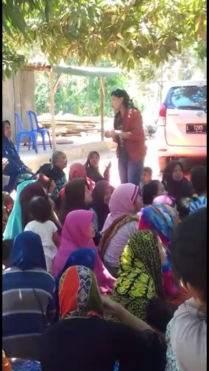 Keterangan Kadin Sosial NTB Soal Percikan Air Diduga Baptis