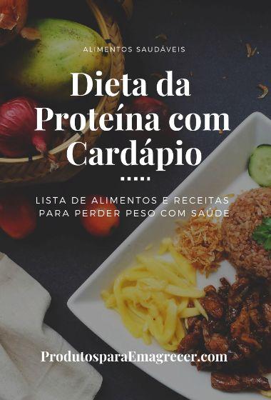 Comprar eBook Dieta da Proteína com Cardápio Completo