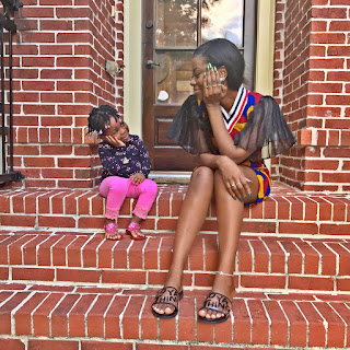 Davido's babymama,Sophia Momodu and Daughter, Imade strikes great pose in adorable photos