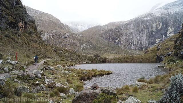 Laguna 68, yungay, cordillera blanca, caraz, trekking
