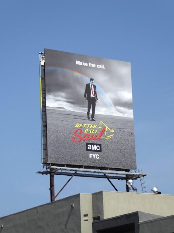 Better Call Saul 2016 Emmy FYC billboard