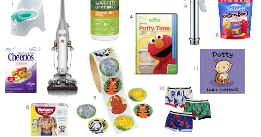 Swell Mommy: 11 Favorite Potty Train Supplies and Tips