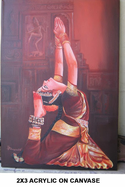 Oil Paintings, Interior Paintings, Wall Paintings, Canvas Paintings, Indian Paintings, contemporary paintings in Hyderabad | ARTNVN