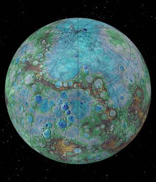 Mercúrio está tectonicamente ativo e em contração