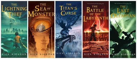 Percy Jackson and the Olympians Series 1-5 EPUB