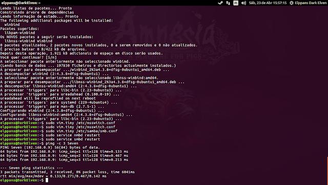 Resolução de nomes no Ubuntu