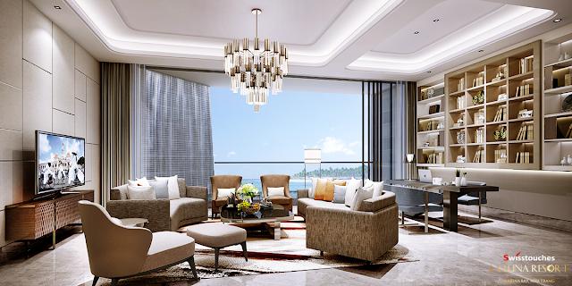 thiết kế căn hộ sang trọng tiện nghi tại dự án La Luna Resort