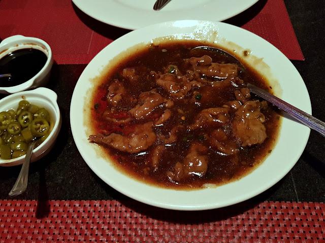 Beef Manchurian at China House, Salmiya, Kuwait