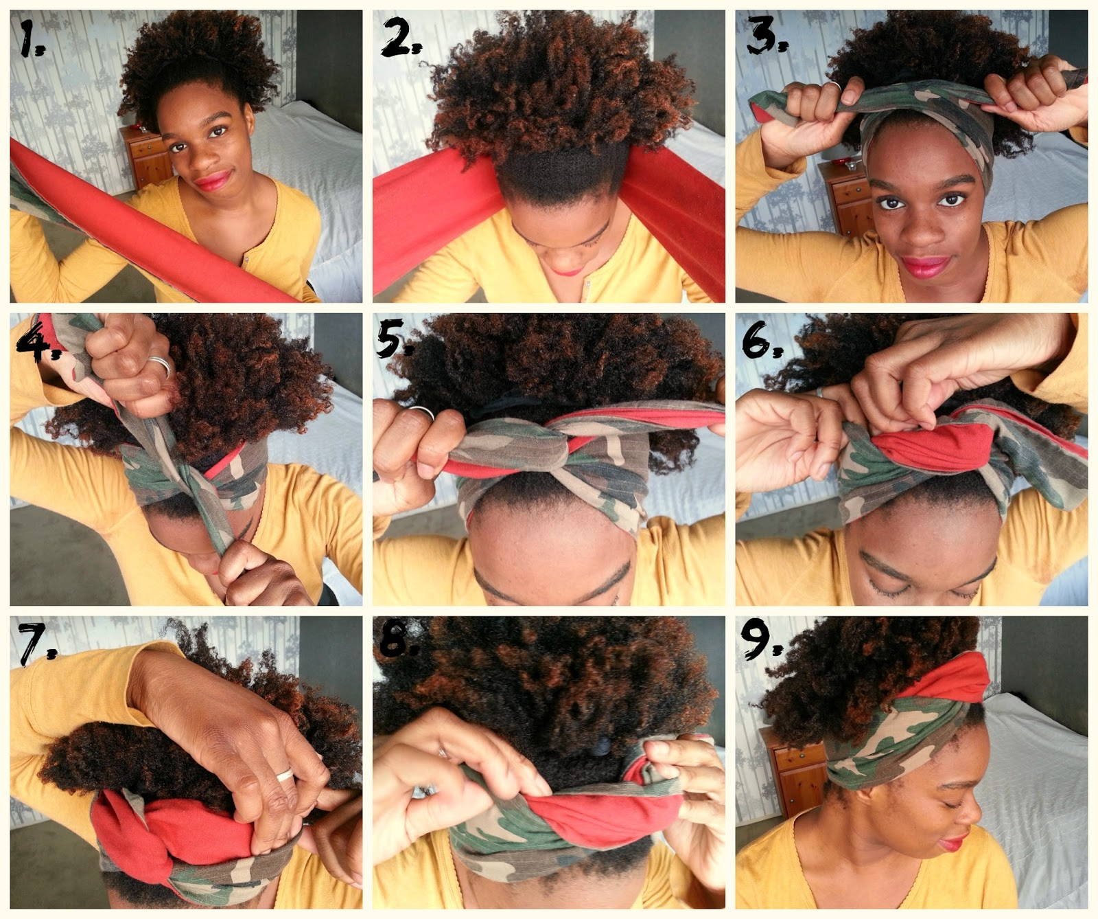 Awe Inspiring Sunfrolove 5 Ways To Style Headbands And Scarfs Natural Hair Short Hairstyles For Black Women Fulllsitofus