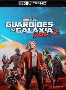 Guardiões da Galáxia Vol. 2 2017 Torrent Download – BluRay 4K 2160p 5.1 Dublado / Dual Áudio