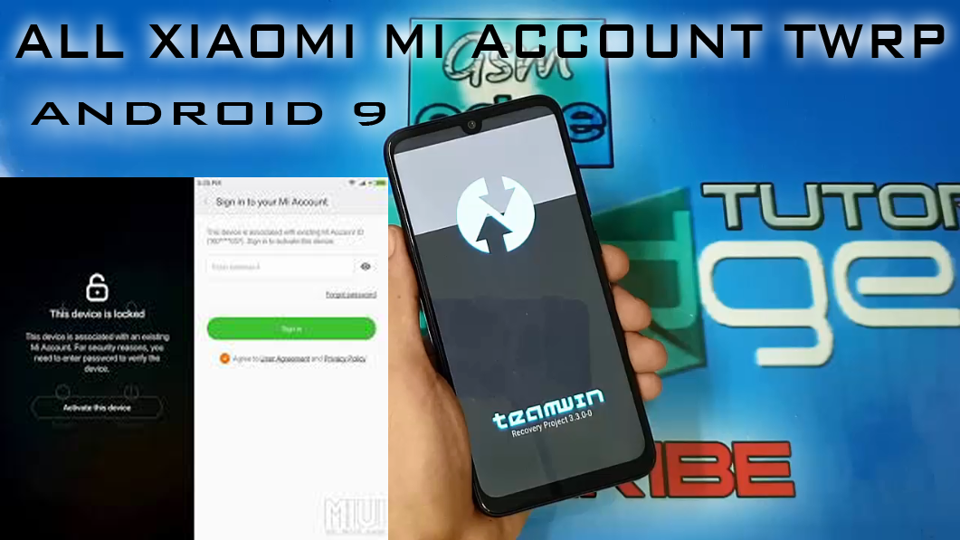 PERMANENTLY MICLOUD ENDING MI ACCOUNT LOCK ALL XIAOMI TWRP METHOD