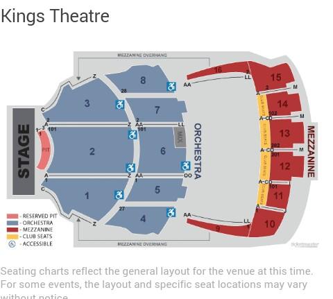 Kings Theater Brooklyn Seating Capacity