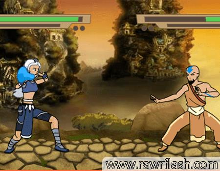 Jogos do avatar, aang, luta, ação: Arena Avatar
