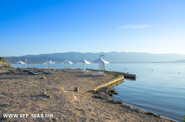 Sunrise scene - Dojran Lake, Macedonia