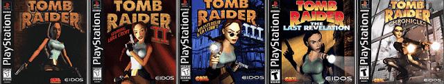5 jogos clássicos da série Tomb raider de Playstation