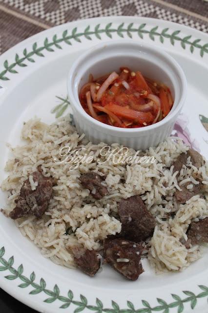 Nasi Daging Utara Yang Terlajak Sedap