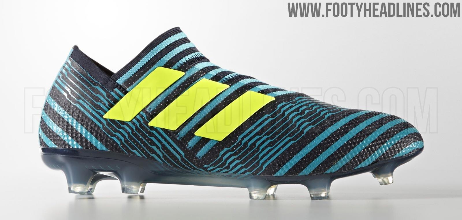 Cheap Adidas Soccer adidas Nemeziz 17+ 360 Agility FG Ocean Storm