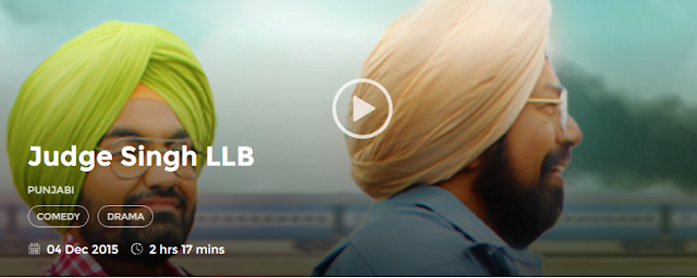 Judge Singh LLB 2015 Full Punjabi Movie 700mb HD 300mb