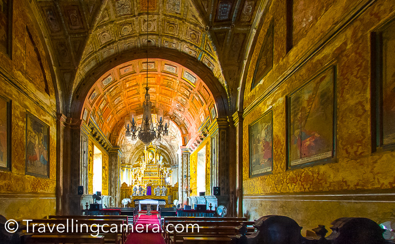 I have already shared a lot of Ce Cathedral and Basilica of Bom Jesus in past, so would encourage you to check more photographs with appropriate details in this blog-post.