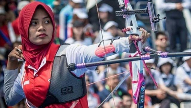 Atlet Panahan Indonesia Diananda Choirunnisa